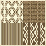Seamless retro vector. Design of a vector background in vintage Royalty Free Stock Photography