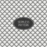 Seamless retro vintage marine geometric line Stock Images