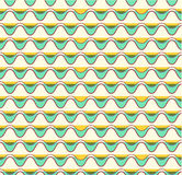 Seamless Retro Vintage Pattern in Vector. EPS 10 stock illustration