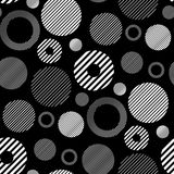 Seamless Retro Wallpaper. You can use this repeating pattern to fill your own custom shapes and backgrounds Stock Photography
