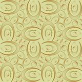 Seamless Retro Wallpaper. You can use this repeating pattern to fill your own custom shapes and backgrounds Stock Photos