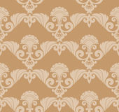 Seamless Retro Wallpaper Royalty Free Stock Image