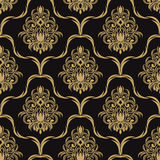 Seamless  retro Wallpaper for design Royalty Free Stock Image