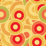 Seamless Retro Wallpaper Pattern. Seamless Wallpaper Tile - This pattern repeats on all sides. You can use it to fill your own custom shapes and backgrounds Royalty Free Stock Images