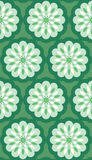 Seamless Retro Wallpaper Pattern Stock Images