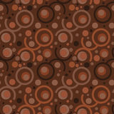 Seamless Retro Wallpaper Pattern. Seamless Wallpaper Tile - This pattern repeats on all sides. You can use it to fill your own custom shapes and backgrounds Stock Photography