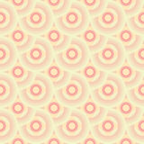 Seamless Retro Wallpaper Pattern. Seamless Wallpaper Tile - This pattern repeats on all sides. You can use it to fill your own custom shapes and backgrounds Stock Photos