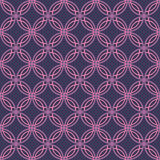 Seamless Retro Wallpaper Pattern. Seamless Wallpaper Tile - This pattern repeats on all sides. You can use it to fill your own custom shapes and backgrounds Royalty Free Stock Image