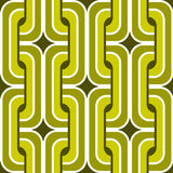 Seamless retro wallpaper pattern Royalty Free Stock Image