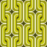 Seamless retro wallpaper pattern. Seamless geometric retro background pattern stock illustration