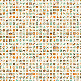Seamless retro web pattern Stock Images