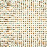 Seamless retro web pattern Stock Images