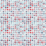 Seamless retro web pattern Royalty Free Stock Photography