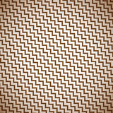 Seamless retro zigzag pattern Stock Image