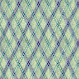 Seamless  rhombic pattern. Seamless green rhombic pattern.Green, yellow, purple, rhombic shapes on a gray background Royalty Free Stock Images
