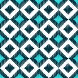 Seamless rhombus geometric pattern Stock Photo