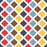 Seamless rhombus mesh pattern Stock Photos