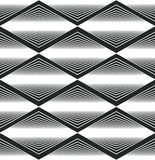 Seamless rhombus pattern, abstract geometric background Royalty Free Stock Photography