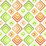 Seamless rhombus squares pattern texture Royalty Free Stock Image