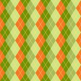Seamless rhombus. St.Patrick 's Day Royalty Free Stock Photography