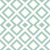Seamless rhombus tiles aqua pattern Stock Photos