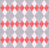 Seamless rhombus tiles geometric pattern Royalty Free Stock Images