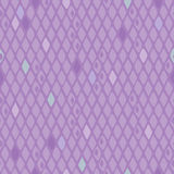 Seamless Rhombuses background - purple color. Stock Photography