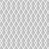 Seamless rhombuses pattern on a gray background Royalty Free Stock Photos