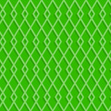 Seamless rhombuses pattern on a green background Stock Photography