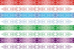 Seamless ribbon. For classic Holidays Royalty Free Stock Photos