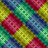 Colorful Numbers And Stars Kids Background Seamless