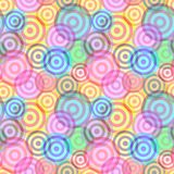 Seamless ring pattern Royalty Free Stock Photography