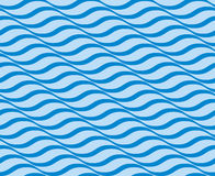 Seamless ripple pattern Royalty Free Stock Image