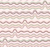 Seamless ripple pattern. Royalty Free Stock Image