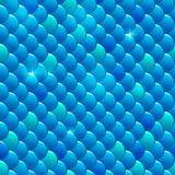 Seamless river fish scales Stock Photo