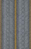 Seamless road texture Stock Images