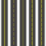 Seamless roads. Asphalt dark. Vector illustration. Seamless roads. Asphalt dark Vector illustration Royalty Free Stock Photos