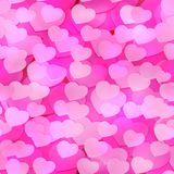 Seamless Romance Background for Print or Textyle in Valentine s Day Royalty Free Stock Images
