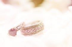 Seamless romantic background Royalty Free Stock Photos