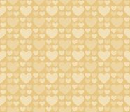 Seamless pattern hearts 25. Seamless romantic hearts pattern. Design element for wedding invitation, Valentine`s Day cards, wallpapers, web site background, baby Stock Photos