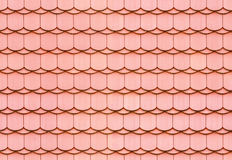 Seamless roof tile texture Royalty Free Stock Images