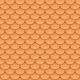Seamless roof tiles. Vector seamless roof tiles illustration vector illustration