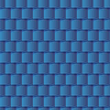 Seamless roof tiles pattern - blue texture. Stock Photography