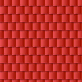 Seamless roof tiles pattern - red texture. Stock Images