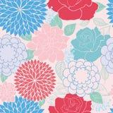 Seamless rose. Wallpaper pattern cute Stock Photos