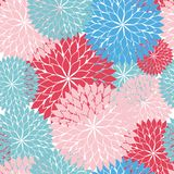 Seamless rose. Wallpaper pattern cute Royalty Free Stock Images