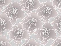 Seamless rose Royalty Free Stock Photos