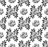 Seamless rose background Stock Photography