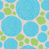 Seamless Rose Pattern. Seamless Rose Hand drawn pattern. Easy to edit Royalty Free Stock Image