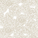 Seamless Rose pattern Stock Photos